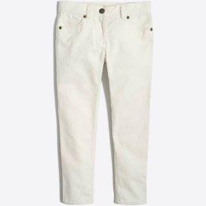 [J. Crew] Toothpick Corduroy Pant